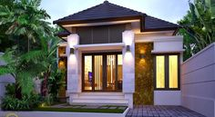 nice 102 Awesome Home Builders: the Ultimate Convenience! Bungalow House Design, Small House Design, Minimalist House Design, Minimalist Home, Facade House, House Roof, Building A Container Home, Street House, Dream House Exterior