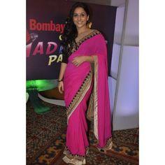 Buy Vidya Balan Cotton Net Bollywood Replica Saree - Dealtz.com
