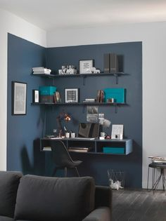 Corporate Office Design Executive is entirely important for your home. Whether you pick the Decorating Big Walls Living Room or Home Office Design Modern, you will create the best Office Design Corporate Workspaces for your own life. Home Office Design, Home Office Decor, House Design, Office Ideas, Home Office Paint Ideas, Decorating Office, Office Decorations, Home Decoration, Office Designs