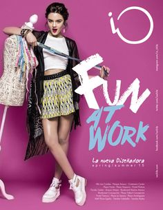 """iO """"Fun at Work"""" Spring/Summer 2015 on Behance Interesting editorial images for inspiration by PR with Perkes Graphic Design Trends, Graphic Design Posters, Ad Design, Graphic Design Inspiration, Layout Design, Editorial Design, Editorial Fashion, Banner Instagram, Collage Poster"""