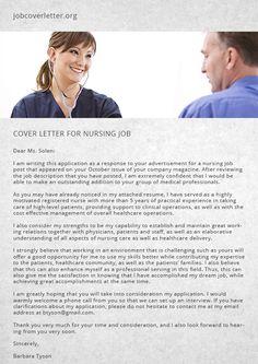cover letter for nursing job job cover letter - Covering Letter For Jobs