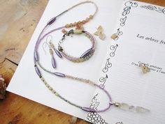 Une parure boho chic : collier boucles par annemarietollet sur Etsy