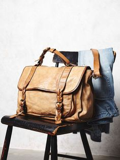 Campomaggi Sylvana Leather Messenger at Free People Clothing Boutique