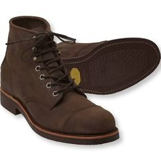 Men's Katahdin Iron Works® Engineer Boots - LL Bean Intl Mens Rugged Boots, Mens Motorcycle Boots, Rugged Style, Chippewa Boots, Engineer Boots, Gents Fashion, Stylish Watches, Designer Boots, Casual Boots