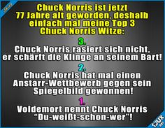 Happy Birthday Chuck Norris! :) #ChuckNorris #Geburtstag #ChuckNorrisWitz #lustig #Sprüche #Humor #funny #Witze #lachen