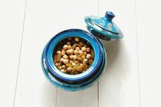 Handcrafted turquoise porcelain utensil holder or kitchen storage jar , ¥2625 JPY, Diameter: 220 mm Height: 120mm , Material: Clay, Origin: Tehran, Designer: Masoud Yeganeh, Description: ?,  Beckyson | A unique world of hand made, organic, beautiful fashion, accessories and homeware. Shop our carefully edited collection of inspiring pieces, brought to you from around the globe. Visit http://www.beckyson.co