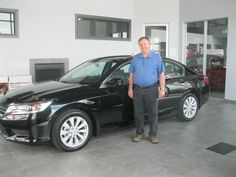 Congratulations Don on your new 2013 Accord LX! Cindy and everyone here at Sherwood Honda wish you the best and a hope you enjoy the rest of the summer!