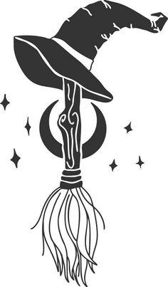 Halloween Arts And Crafts, Fall Halloween, Halloween Decorations, Vinyle Cricut, Halloween Stencils, Cricut Stencils, Halloween Silhouettes, Cricut Tutorials, Beautiful Drawings