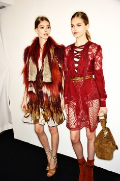 Boho Style Inspiration: Gucci SS15 Fashion Show Milan Backstage