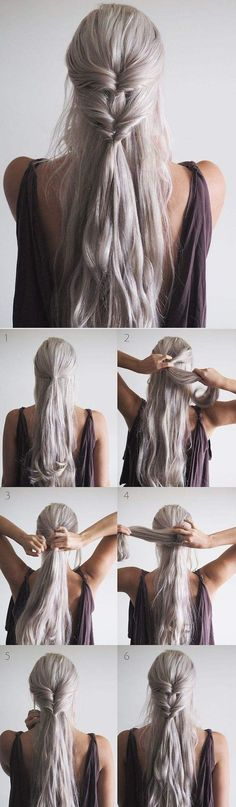 Fast hairstyles – Wedding Hairstyles Related posts: 15 Fast and Easy Hairstyles for School Girls You Need to Know 11 Easy Hairstyles to Get Your. Lazy Hairstyles, Easy Hairstyles For School, Step By Step Hairstyles, Wedding Hairstyles, Stylish Hairstyles, Braid Hairstyles, Medium Hair Styles, Curly Hair Styles, Gorgeous Hair