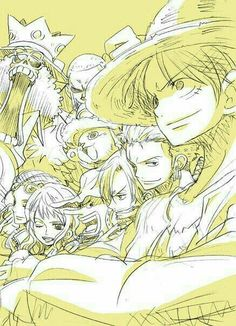 Straw Hat Crew, Mugiwara, Luffy, Sanji, Zoro, Chopper, Usopp, Brook, Franky, Nami, Robin; One Piece