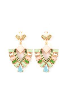 Veanna Earrings in Soft Beauty