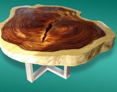 Live Edge Coffee Table Reclaimed Acacia Wood Solid Slab (Natural Shape)(Custom Made) - shipping crates Slab Table, Dining Table, Coffe Table, Merida, Tree Slices, Shipping Crates, Wood Tree, Wood Slab, Natural Shapes