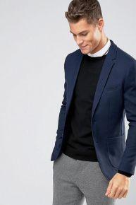 29 Ideas De Blazer Azul Para Hombre Blazer Hombre Azul Blazer Azul Blazer