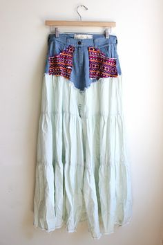 Guipil Saloon Skirt - only $10!!! Sale ends at midnight. #jenspiratebooty