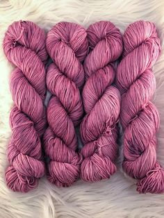 A personal favorite from my Etsy shop https://www.etsy.com/listing/479885670/hand-dyed-speckled-sock-yarn-generosity Pink yarn, mauve yarn, speckled yarn, red yarn, hand dyed yarn