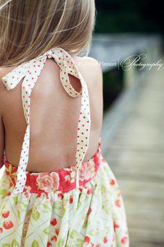 Girl's Classic Sundress children's clothing sewing Tutorial Pattern ePattern DIY ebook PDF