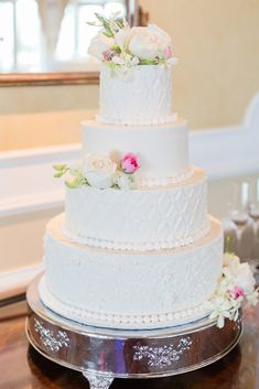 Virginia Wedding Cake Inspiration | Favorite cakes compiled by Angie McPherson Photography, Virginia Wedding Photographer