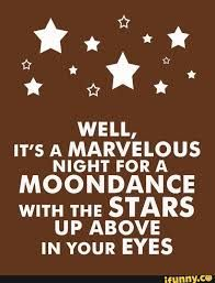 a marvelous night for a moon dance - Google Search I Love Music, Music Is Life, Lyric Quotes, Me Quotes, Lyrics To Live By, Sing To Me, Sing Sing, Wedding Songs, Wedding Ideas