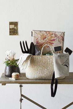 Light, portable, and available in many shapes and sizes, baskets make a flexible storage solution. Here are seven clever. Home Organisation, Storage Organization, Garden Basket, Storage Baskets, Gift Baskets, Kitchen Cupboards, Garden Gifts, Interior Design Inspiration, Basket Weaving