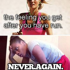 the feeling you get after a run :D