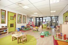 Crèche 35 berceaux (Aéroville F-93290) Salle d'Activités des Petits