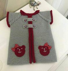 Veja como é Fácil Fazer Crochê e Aumente sua Renda! Baby Girl Nursery Themes, Baby Nursery Neutral, Baby Knitting Patterns, Cute Baby Clothes, Diy Clothes, Baby Girl Dress Patterns, Moda Emo, Butterfly Baby, Cardigan