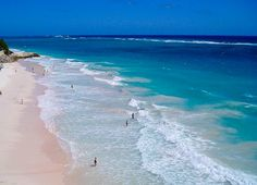 """Crane beach, Barbados. Described as  """"one of the Ten Best Beaches in the World"""".  (tied for #1 on my list)"""
