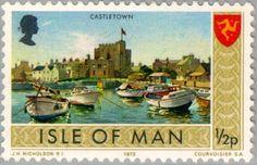 Sello: Views- Castletown (Isla de Man) (Views) Mi:IM 12,Yt:IM 2,Sg:IM 12,AFA:IM 2