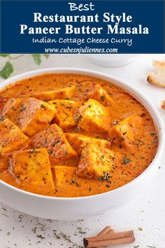 Paneer Butter masala recipe one of the most loved paneer recipes by readers. A remarkable creamy, paneer dish cooked in tomato cashew nut gravy spices&cream Paneer Curry Recipes, Paneer Masala Recipe, Butter Masala Recipe, Paneer Makhani, Paneer Tikka, Milk Recipes, Indian Food Recipes, Vegetarian Recipes, Cooking Recipes
