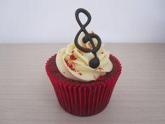 Cupcake e Música, perfeito!