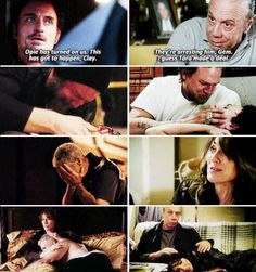 People die when other people don't get their facts straight on SOA. Poor Piney & Tara :(