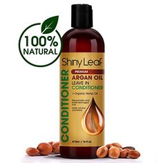#Beauty #Health #hair loss treatment Shiny Leaf Organic Argan Oil Leave In Conditioner + Organic Hemp Oil – Anti Hair Loss Treatment – Rejuvenates and Treats Damaged Hair, Adds Volume and Shine, Sulfate and Paraben Free, 16 oz (473 ml)  Get the soft and manageable hair you always wanted at...