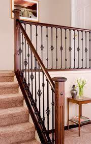 Beau Metal Stair Railing   I Like The Alternating Styles Indoor Stair Railing,  Metal Staircase Railing