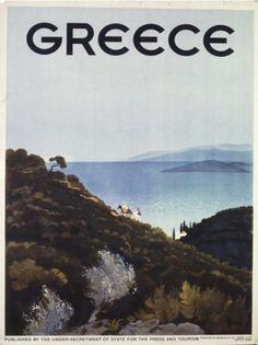 Παλιές αφίσες ΕΟΤ / δεκαετία 1930-1939