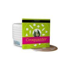 La tienda online gourmet y delicatessen Érase un gourmet vende este kit Croquanter GEO con 8 plantillas de diseños diferentes para realizar  láminas crujientes a partir de purés de frutas, verduras o frutos secos. Producto de alta cocina creado por Albert y Ferrán Adrià para usarse en las mejores deshidratadoras