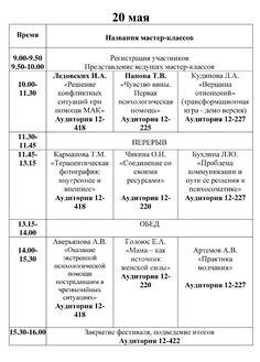 В ПГУ проходит Фестиваль практической психологии
