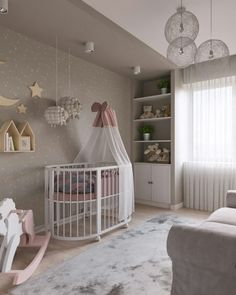 If you want a unique design, then you must check out Circu seating options! We have the most luxurious and unique seating pieces for kids, go to: CIRCU. Baby Room Design, Girl Bedroom Designs, Baby Room Decor, Nursery Room, Girls Bedroom, Bedroom Decor, Baby Boy Rooms, Little Girl Rooms, Baby Bedroom Furniture