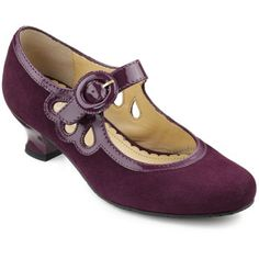 Valetta shoes from Hotter Modern Fashion, Vintage Fashion, Vintage Style, Grape Color, Gamine Style, Hot Shoes, Winter Shoes, Cool Costumes, Vintage Shoes