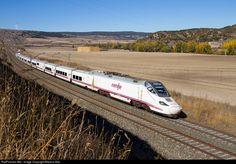 RailPictures.Net Photo: 42 Renfe Bombardier/Talgo Serie 130 at Santa María del Invierno, Spain by Marcos Maté