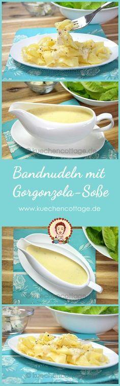Bandnudeln mit Gorgonzola-Soße | Veggie | Küchencottage http://kuechencottage.de/bandnudeln-mit-gorgonzola-sosse-v…/ Das Rezept für würzige Gorgonzola-Soße mit Bandnudeln und viele weitere findest du auf kuechencottage.de #kochen #leckeressen #rezepte #blog #foodblog #yummy #schlemmen #nudeln #gorgonzola #veggie #vegetarisch #foodporn #foodlove #bestfood #bestesrezept #kochideen #rezeptideen #rezept #bandnudeln #fleischlos #schnell