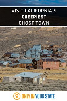 Abandoned but not forgotten, this beautiful, foreboding ghost town is now part of a California State Park.