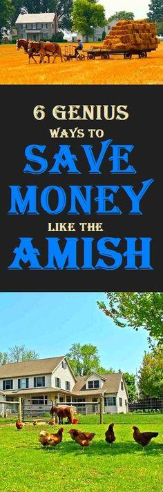 Amish money tips #amish #money #life #lifestyle