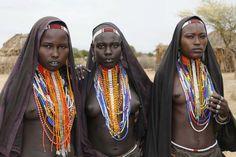 Etiopía, mujeres del valle del Omo