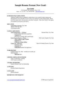 new grad nurse cover letter example | Cover Letter - Recent ...