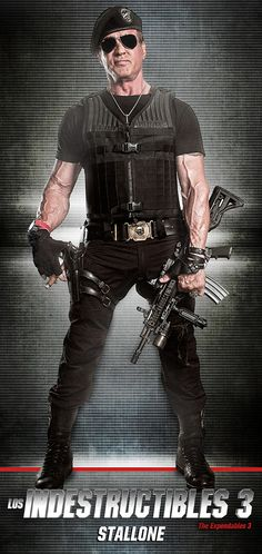 Los Indestructibles 3 - The Expendables 3 - Sylvester Stallone