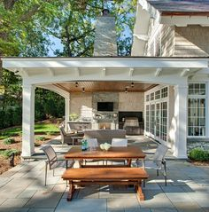 Particular Covered Back Porch Designs On Home Design    Traditional ...