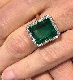Russian Emerald & Diamonds (1920)