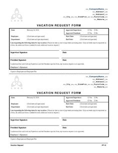 expense request form template