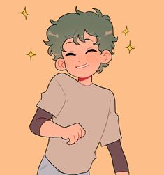 Anime: My Hero Academia My Hero Academia Episodes, My Hero Academia Memes, My Hero Academia Manga, Boku No Hero Academia, Anime Drawings Sketches, Cute Drawings, Cartoon Art Styles, Character Drawing, Cute Art
